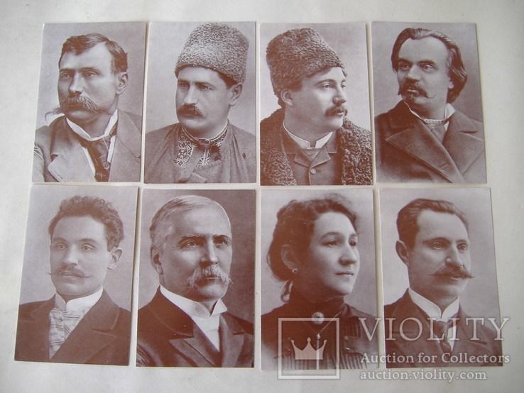 Діячі українського театру. набор. 17 шт., фото №3
