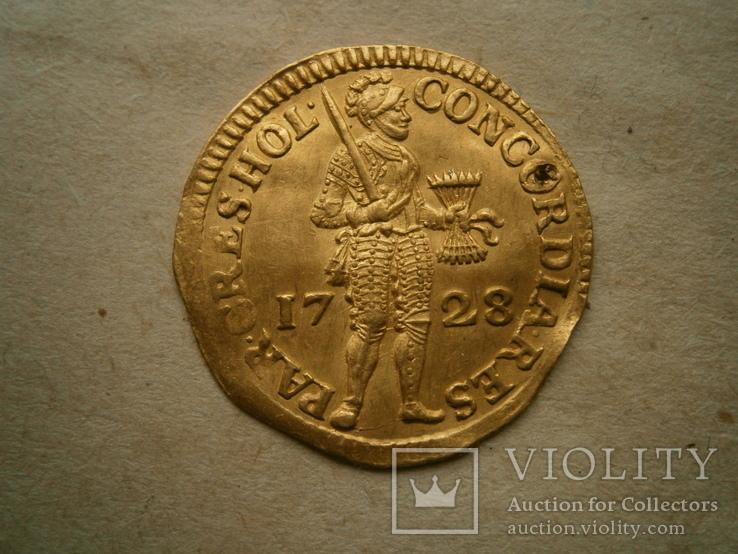 Дукат Голландия -1728 года