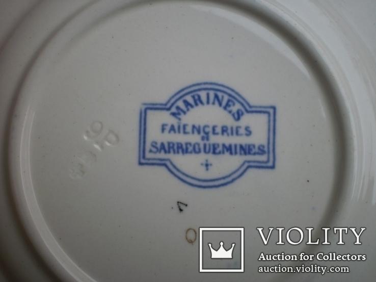 Тарелки Sarreguemines 8 шт., фото №13