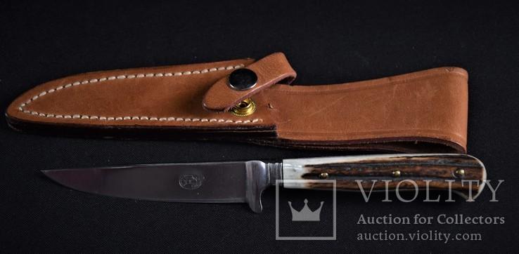 Нож охотничий Solingen с чехлом, фото №2