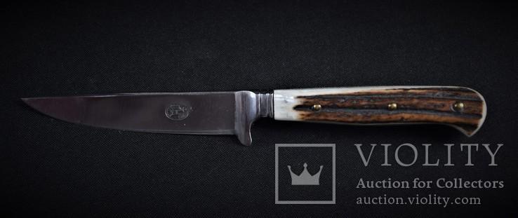 Нож охотничий Solingen с чехлом, фото №3