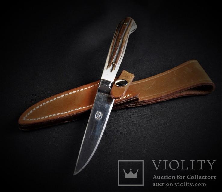 Нож охотничий Solingen с чехлом, фото №8