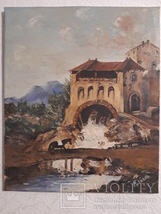 Картина, Италия, масло, холст 50х60 см.