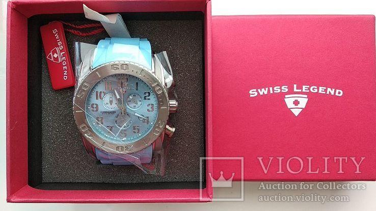 Мужские часы Swiss Legend Commander 11876-TI-012