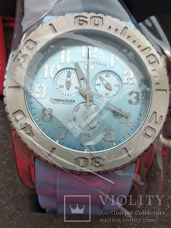 Мужские часы Swiss Legend Commander 11876-TI-012, фото №3