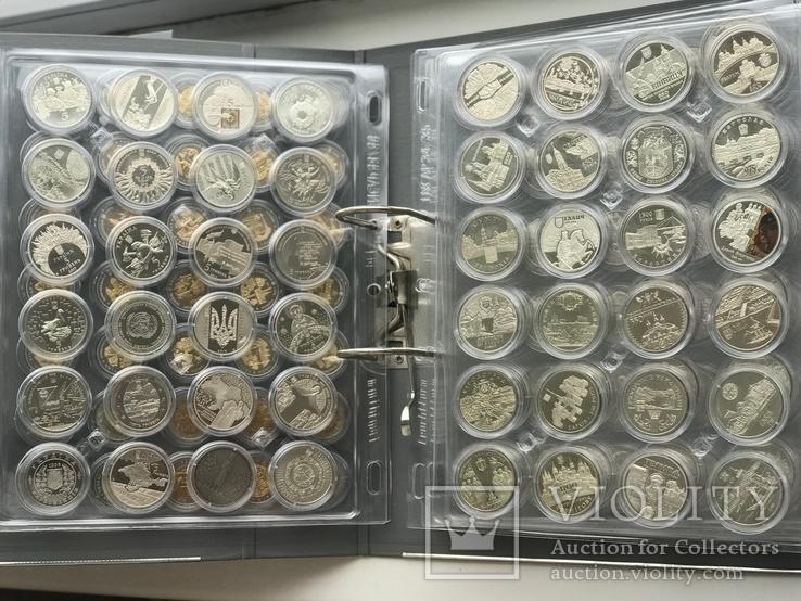 Kолекція монет України / Коллекция 1995-2019 из недрагоценных металлов. Без ЄБРР, фото №2