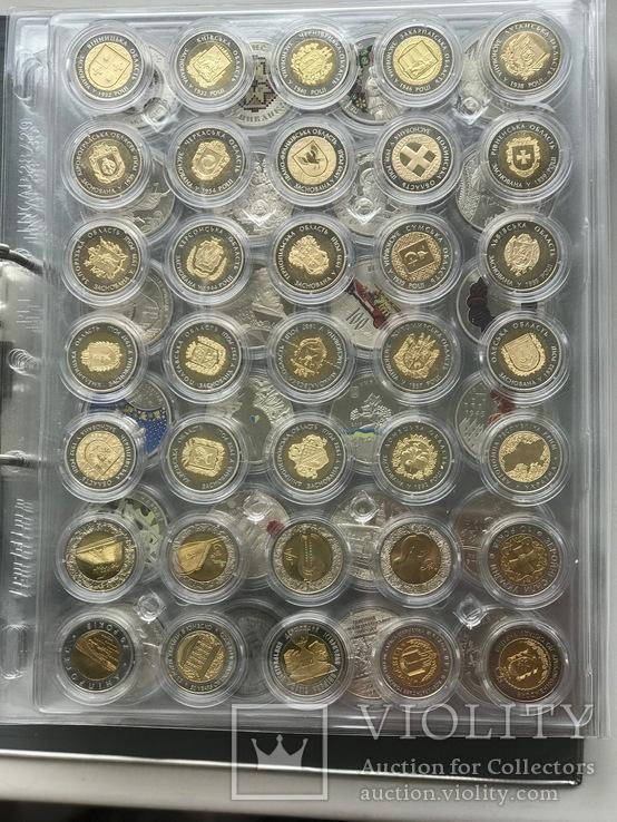 Kолекція монет України / Коллекция 1995-2019 из недрагоценных металлов. Без ЄБРР, фото №8