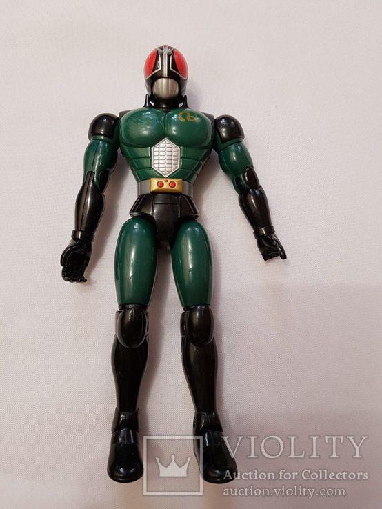 Железный человек , робот , робокоп . 1998 год .21 см. весь двигается