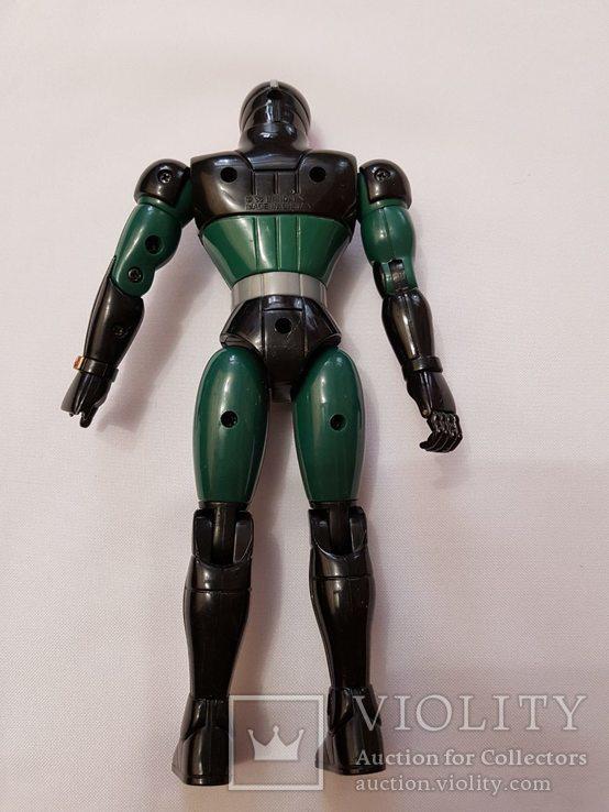 Железный человек , робот , робокоп . 1998 год .21 см. весь двигается, фото №3