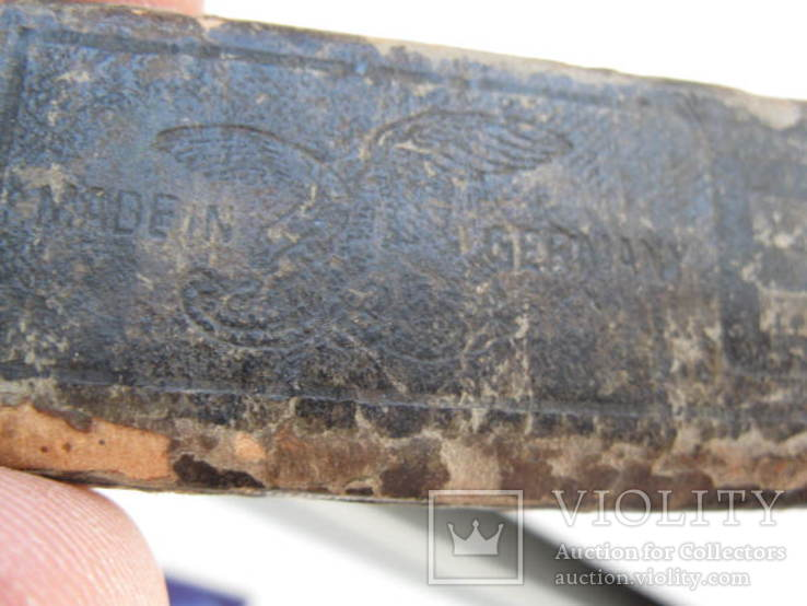 Опасная бритва немецкая ERN, фото №3