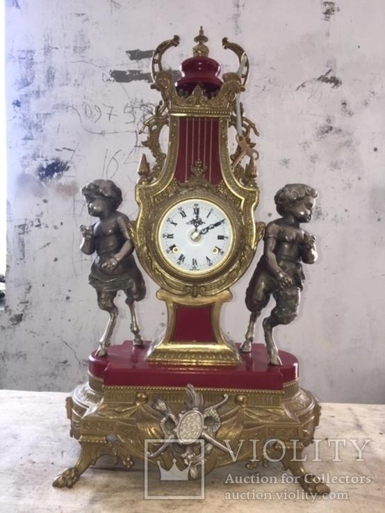 Старинные итальянские каминные часы