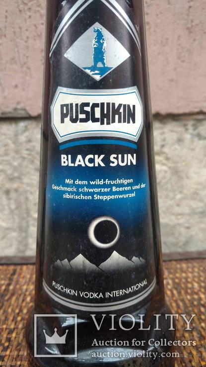 Puschkin Black Sun, 16,6%, 0,7л., 1990-ті рр., фото №3