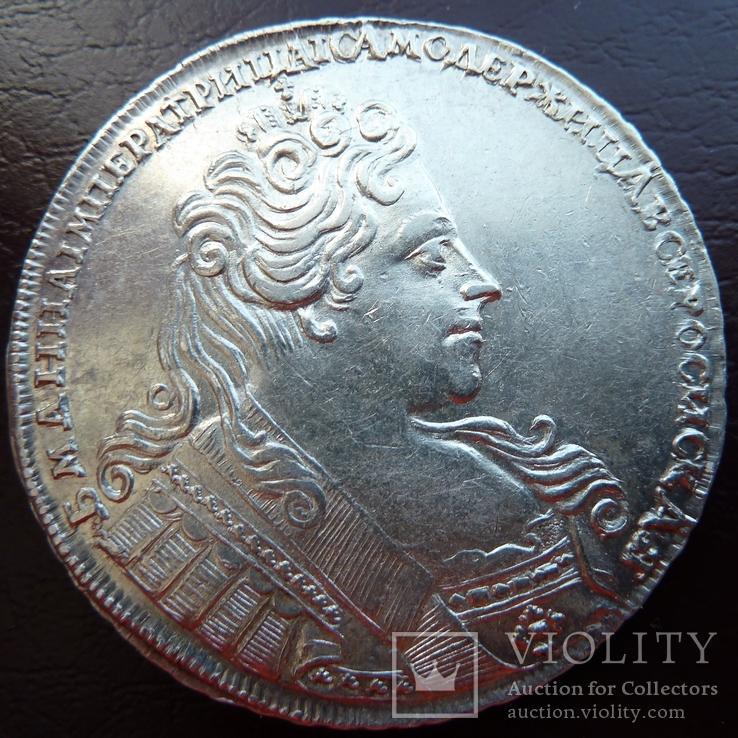 Рубль 1731 г., aUNC