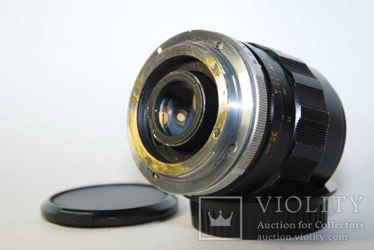 MC W.ROKKOR HH 35mm F1.8 перероблений на систему CANON EF з нескінченністю., фото №4