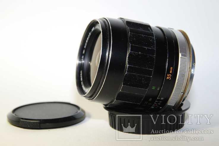 MC W.ROKKOR HH 35mm F1.8 перероблений на систему CANON EF з нескінченністю., фото №5