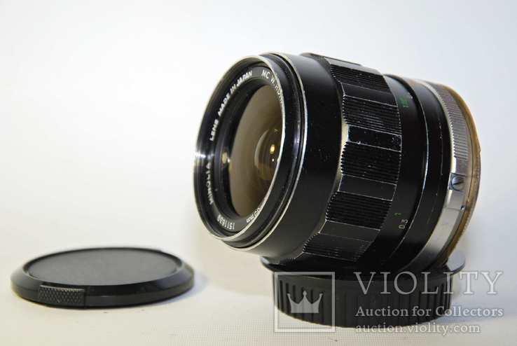 MC W.ROKKOR HH 35mm F1.8 перероблений на систему CANON EF з нескінченністю., фото №6