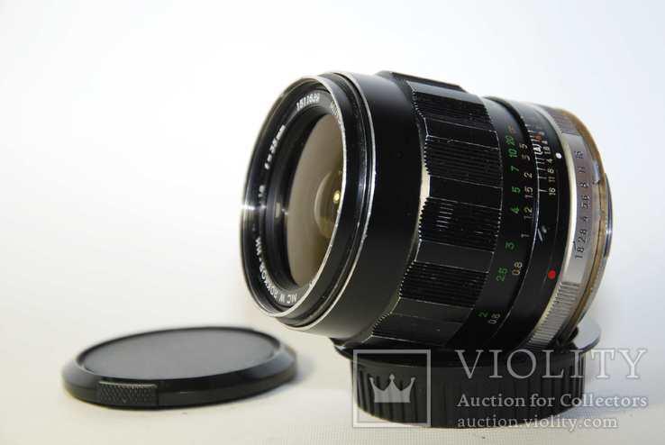 MC W.ROKKOR HH 35mm F1.8 перероблений на систему CANON EF з нескінченністю., фото №7