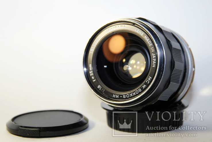 MC W.ROKKOR HH 35mm F1.8 перероблений на систему CANON EF з нескінченністю., фото №9