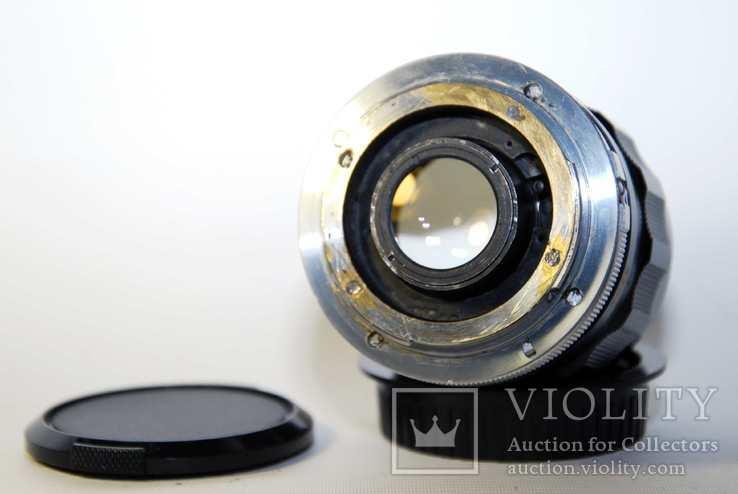 MC W.ROKKOR HH 35mm F1.8 перероблений на систему CANON EF з нескінченністю., фото №10