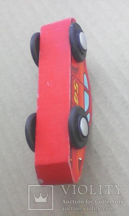 Машинка деревянная, фото №4