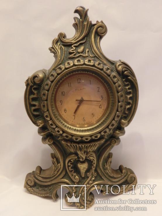 Часы Настольные - Каминные Бронза.