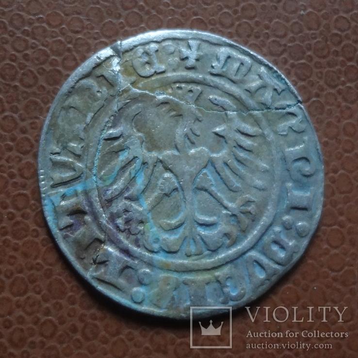 Полугрош  1512  серебро  (М.5.3), фото №5