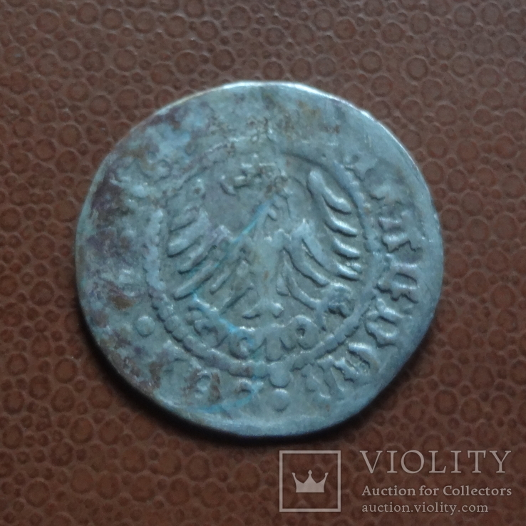 Полугрош  коронный  серебро  (М.5.22)~, фото №3