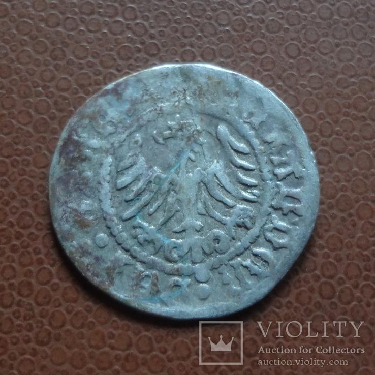 Полугрош  коронный  серебро  (М.5.22)~, фото №4
