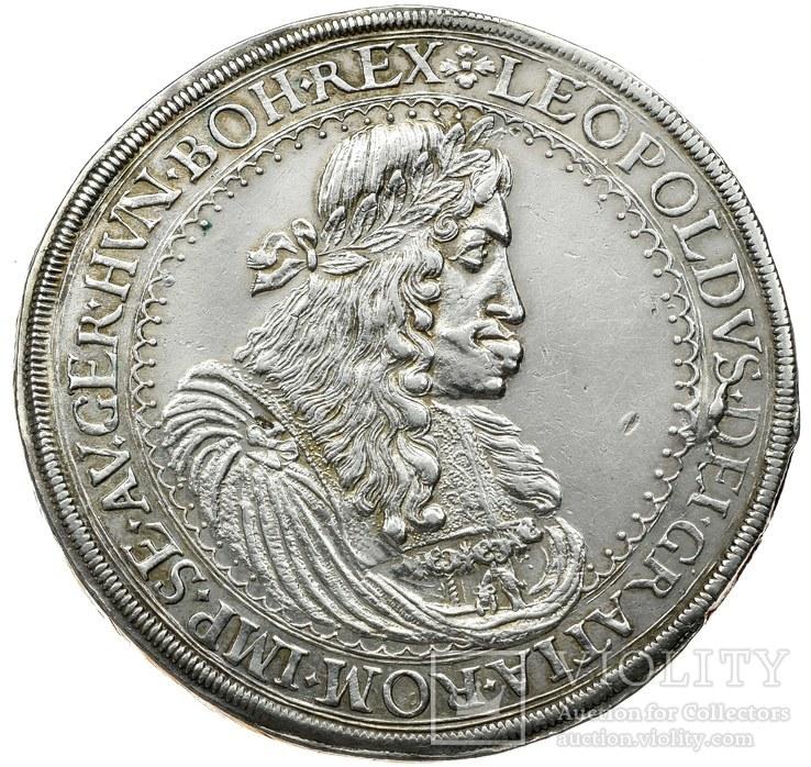 Двоталер Леопольда I 1682р. (Грац, Австрія)