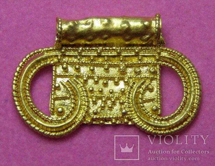 Золота лунниця ЧК --- мала, 1,72 г