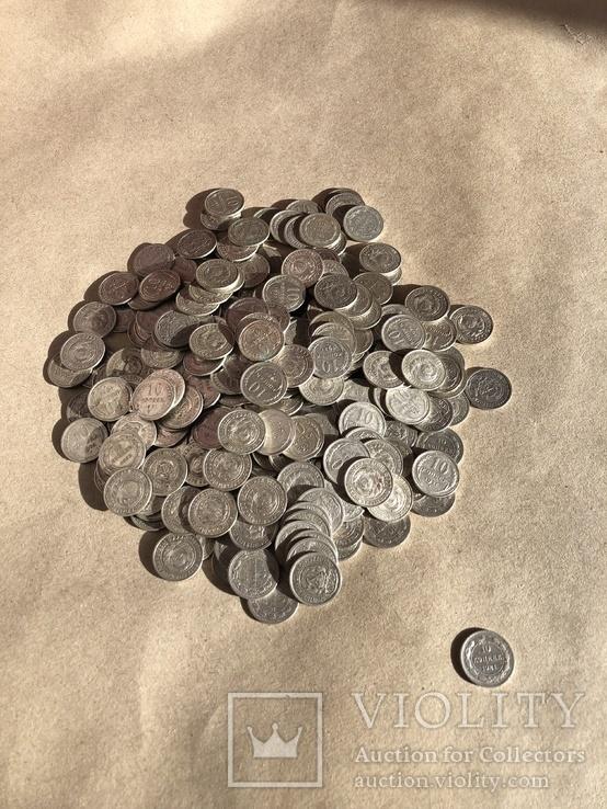 Білон 10 копійок 289 од + 10 копійок 1921 + бонус