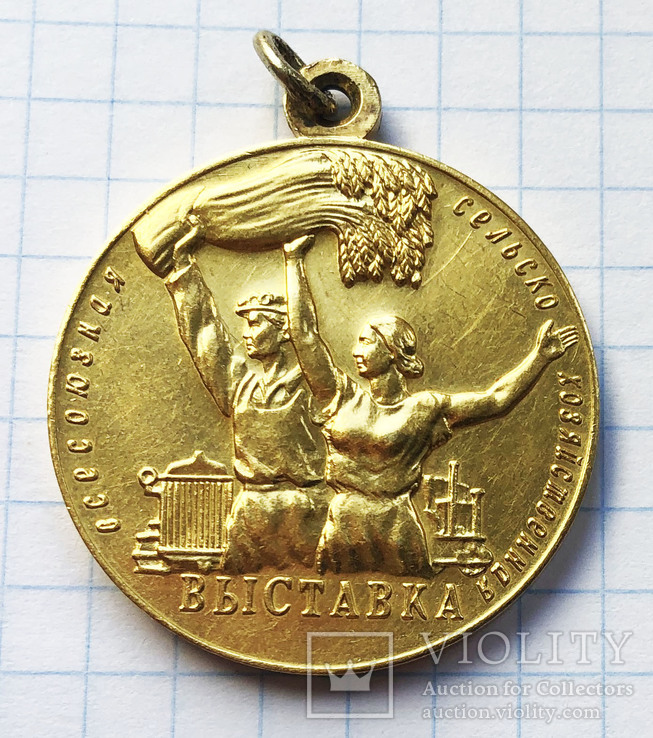 Большая медаль ВДНХ (золото)