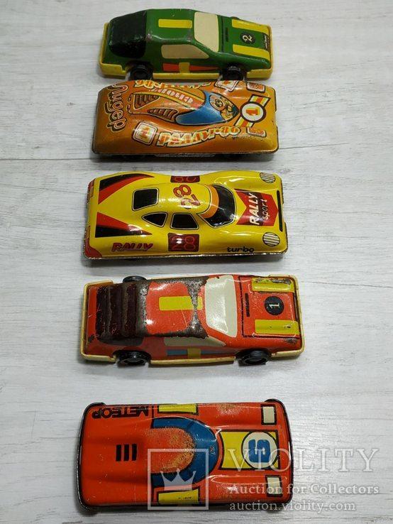 Гоночные автомобили 5 шт. СССР., фото №5