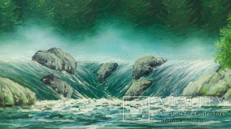 Подписной пейзаж., фото №5