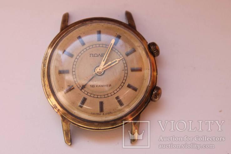 Часы Полет, будильник, 18 камней, AU10