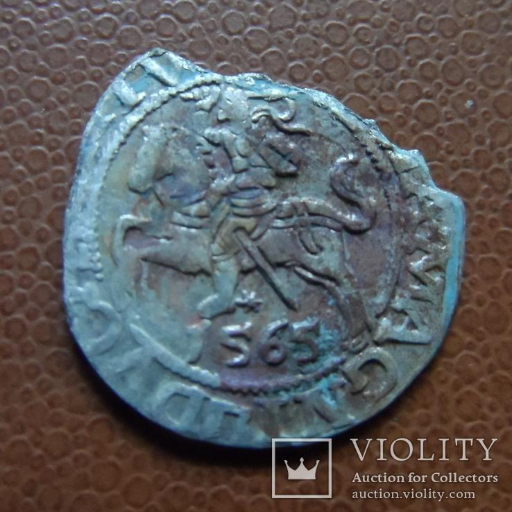 Полугрош 1565   серебро   (М.4.14)~, фото №3