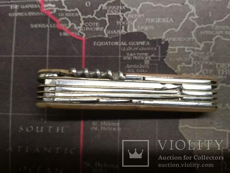 Складной нож ВОРСМА на 16 предметов 1964 (католог 5000-р), фото №11