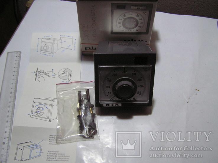 Philips Plastomatic 9404 435 00251 Термостат с терморегулятором 50 - 450 ° C, фото №3