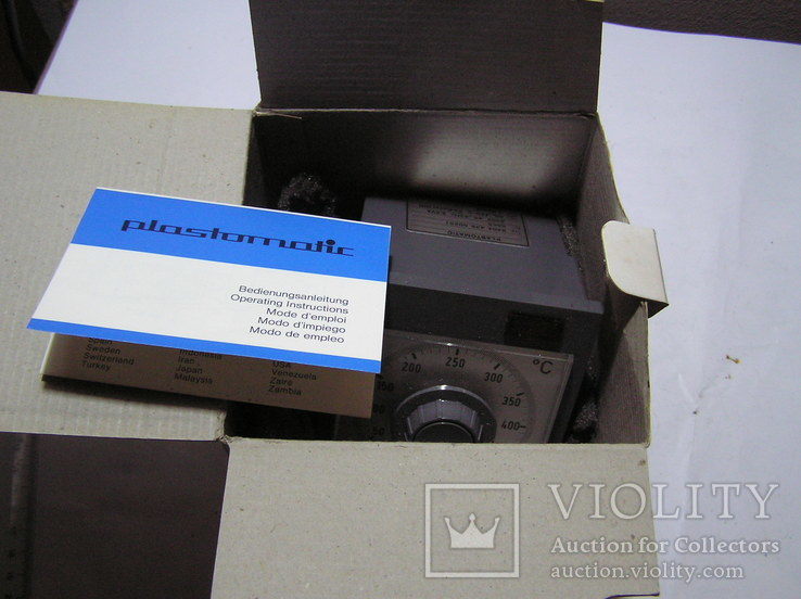 Philips Plastomatic 9404 435 00251 Термостат с терморегулятором 50 - 450 ° C, фото №7