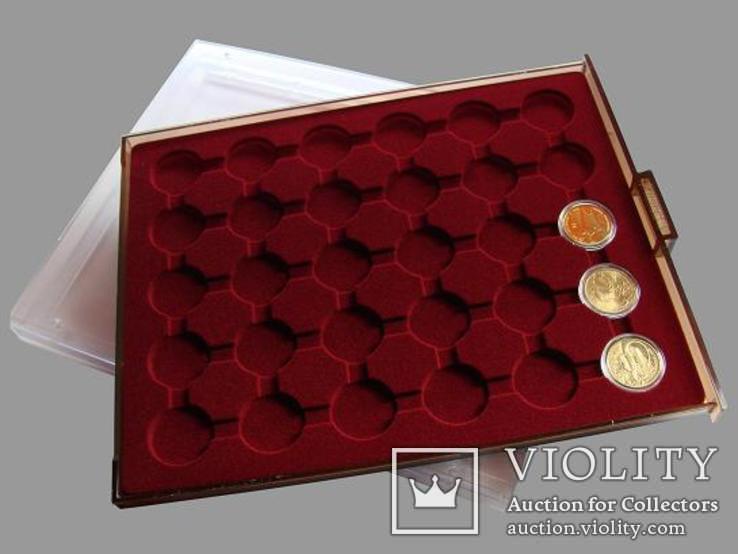 Бокс для монет диаметром до 32мм, Po30, 2 евро