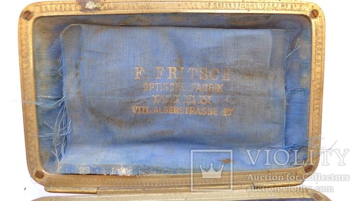 Старинное приспособление для фотодела в футляре. F. Fritsch, photo number 3