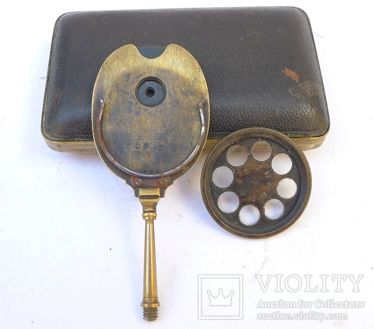 Старинное приспособление для фотодела в футляре. F. Fritsch, photo number 7