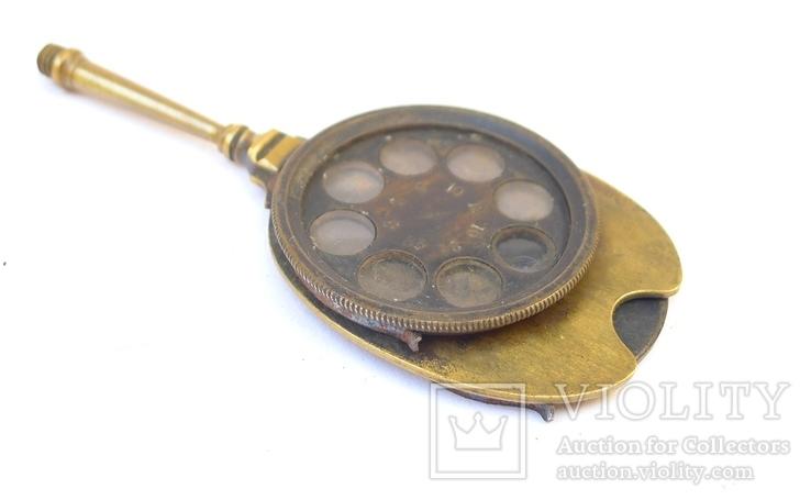 Старинное приспособление для фотодела в футляре. F. Fritsch, photo number 8