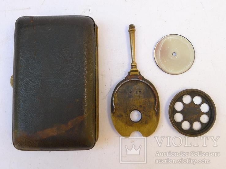Старинное приспособление для фотодела в футляре. F. Fritsch, photo number 12