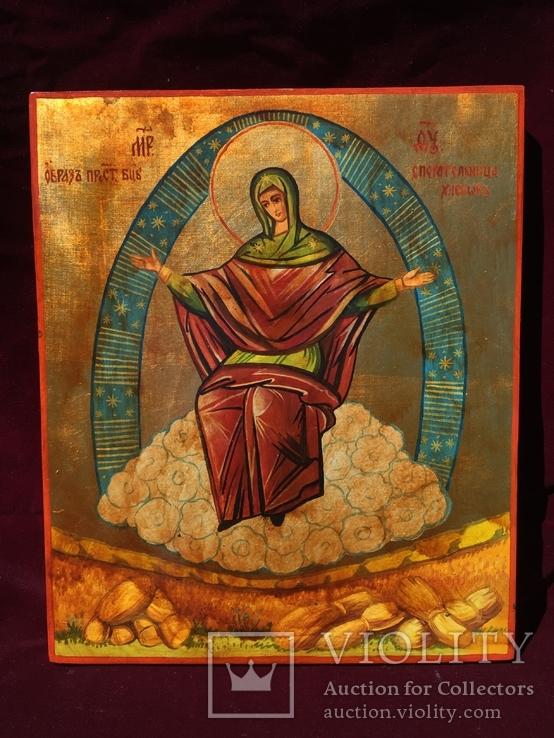 Икона БМ Спорительница Хлебов, фото №2