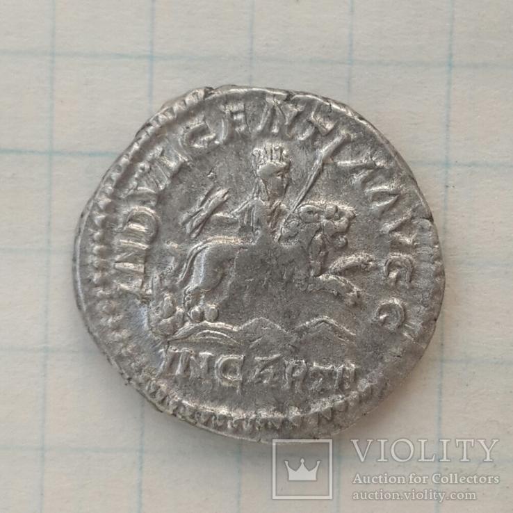 Денарий Септимия Севера 193-211г.г. - Целеста на льве