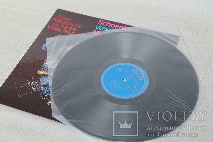 Пластинка. Schoenberg- Verklarte/ Mahler- Adagoi, фото №5