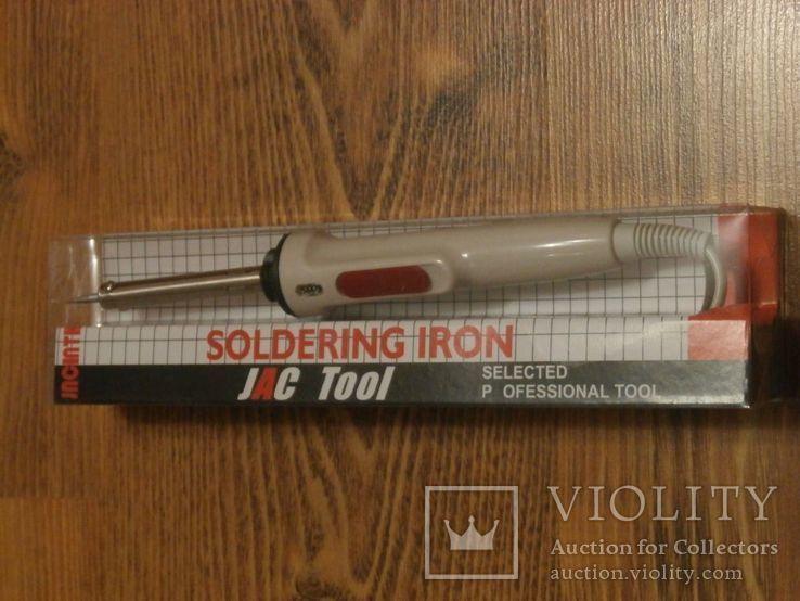 Паяльник JAC Tool 903 с регулятором температуры 40W нихромовый нагреватель, фото №2