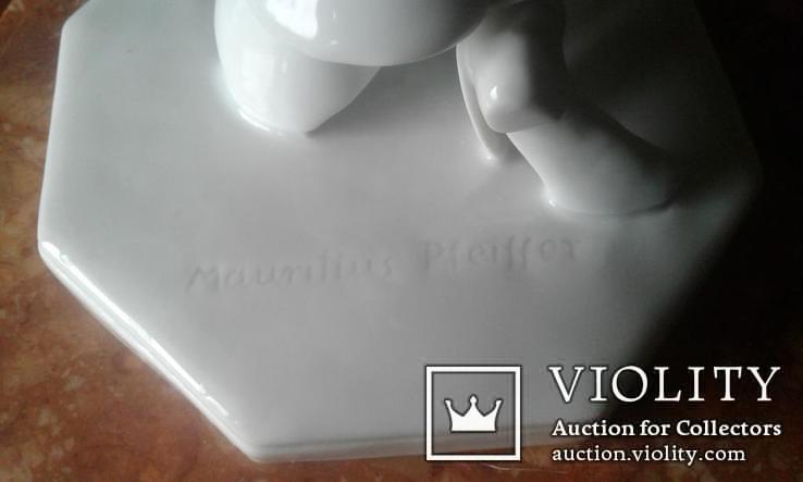Пьеретта с погремушкой, Schwarzburger/Шварцбургер, Mauritius Pfeiffer. Ар Деко., фото №9