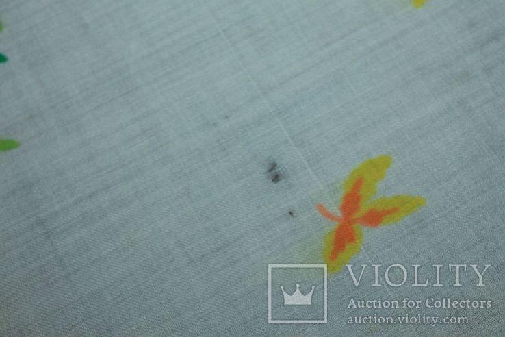 Шерстяной старинный платок №288, фото №8